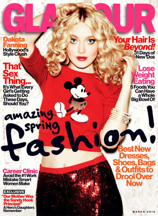 Dakota Fanning for Glamour magazine 2013 -03