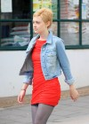 dakota-fanning-hot-in-red-dress-on-set-of-now-is-good-08