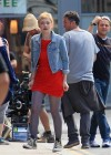 dakota-fanning-hot-in-red-dress-on-set-of-now-is-good-10