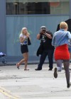 dakota-fanning-hot-in-red-dress-on-set-of-now-is-good-14