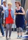 dakota-fanning-hot-in-red-dress-on-set-of-now-is-good-18