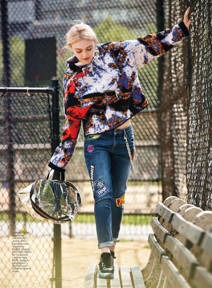 Dakota Fanning in Lucky Magazine - September 2014
