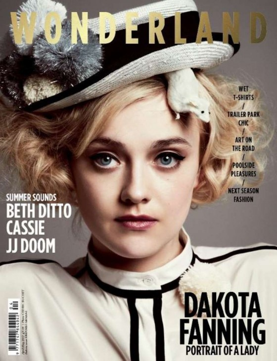 Dakota Fanning in Wonderland