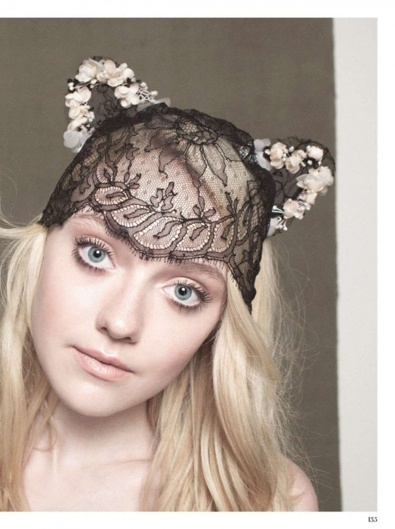 Dakota Fanning - InStyle UK Magazine (December 2012)