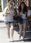 Dakota Fanning Leggy in Shorts-06
