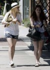 Dakota Fanning Leggy in Shorts-07