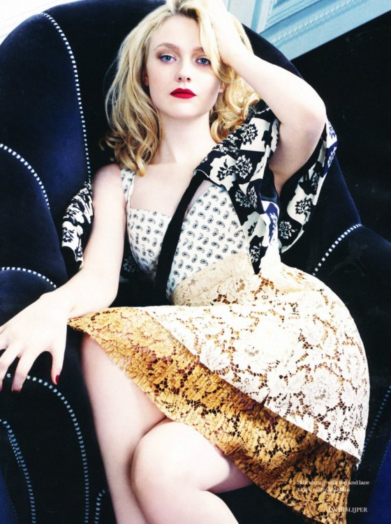 Dakota Fanning - Photoshoot By David Slijper