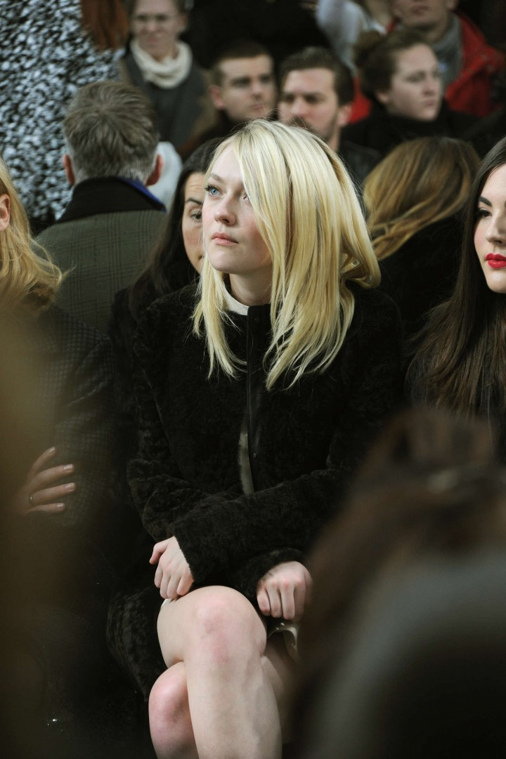 Dakota Fanning: Proenza Schouler 2014 Fashion Show in NYC -01