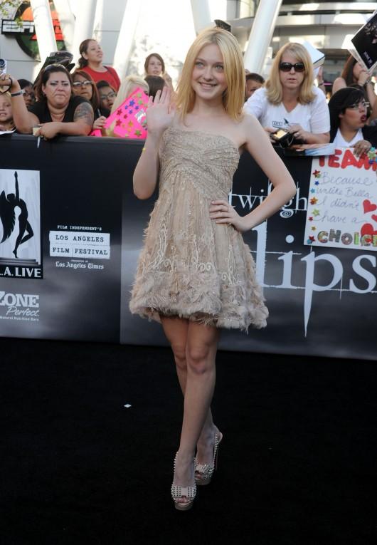 Dakota Fanning – The Twilight Saga: Eclipse premiere in LA