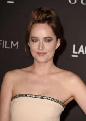 Dakota Johnson - LACMA Art + Film Gala 2014 in LA