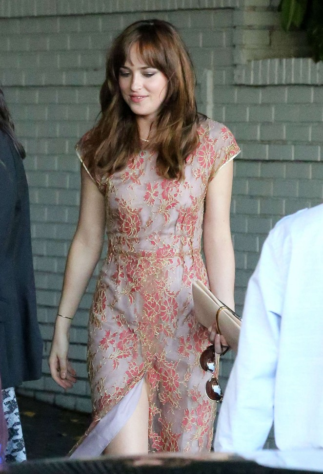 Dakota Johnson: CFDA Vogue Fashion Fund Event -13 - GotCeleb