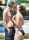 Dani King - Bikini Candids In - Marbella, Spain
