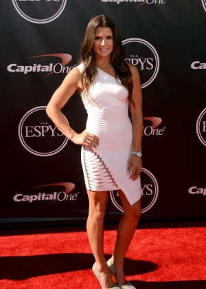 Danica Patrick at 2014 ESPYS in LA -01