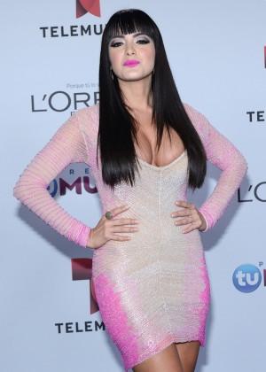 Daniela Navarro - 2014 Telemundo's Premios Tu Mundo Awards in Miami