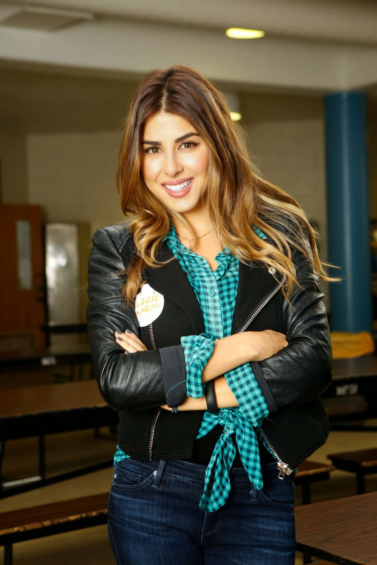 Daniella Monet Lean Amp Green On A Meatless Monday In Philly