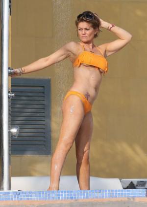 Daniella Westbrook: Wearing Bikini in Dubai 2014 -01