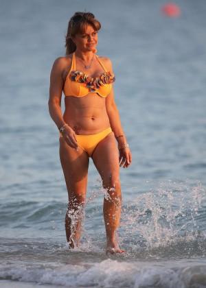 Daniella Westbrook: Wearing Bikini in Dubai 2014 -07