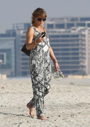 Daniella Westbrook: Wearing Bikini in Dubai 2014 -09