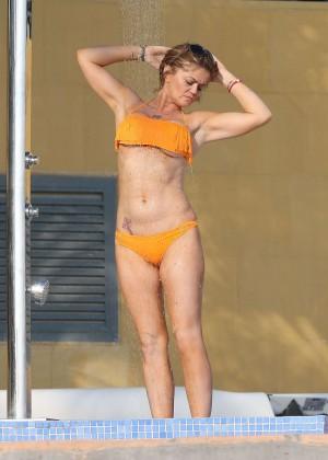 Daniella Westbrook: Wearing Bikini in Dubai 2014 -13