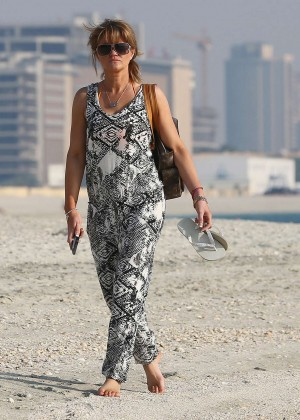 Daniella Westbrook: Wearing Bikini in Dubai 2014 -17