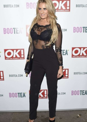 Danielle Armstrong - Sanctum Soho Hotel Christmas Party in London