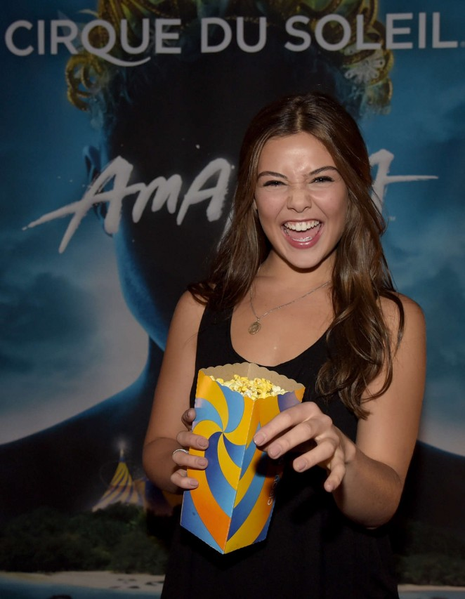 "Danielle Campbell - ""Cirque Du Soleil Amaluna"" Premiere Night in Atlanta"