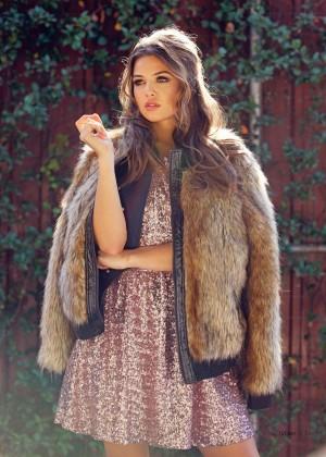 Danielle Campbell - LVLten Magazine (Winter 2015) adds