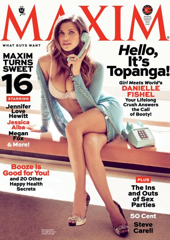 Danielle Fishel - Maxim Magazine (April 2013)-09