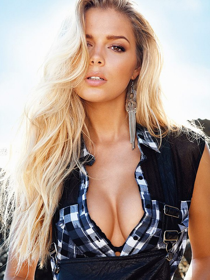 Danielle Knudson: Guess Photoshoot -07