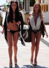 Danielle Lloyd shows her bikini body in Marbella