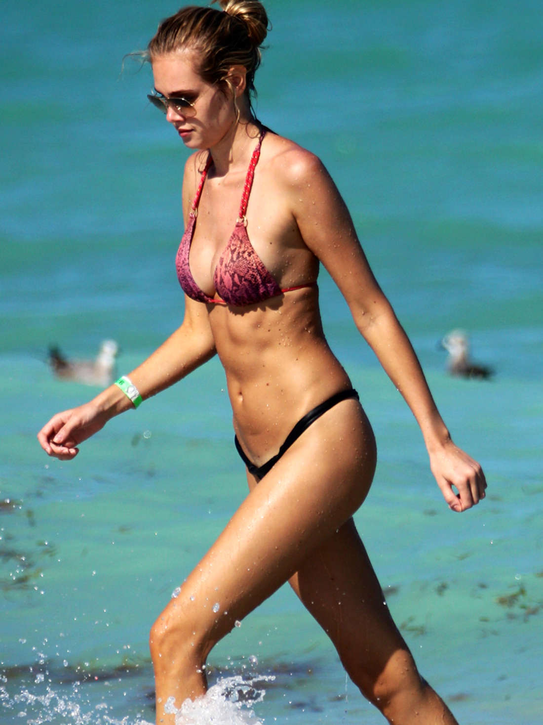 Lays Silva in Bikini at the beach in Miami Pic 5 of 35