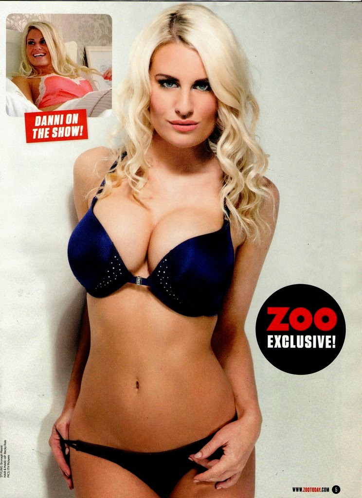 Danni Armstrong Upfront Zoo Magazine April 2014