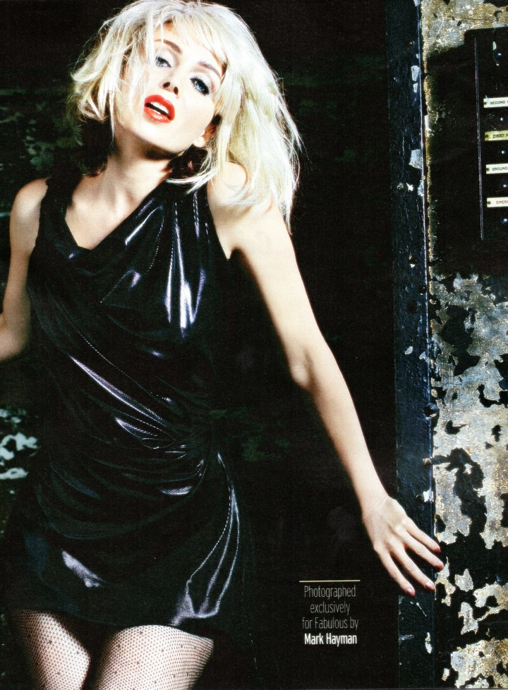 Dannii Minogue: Fabulous Magazine -02