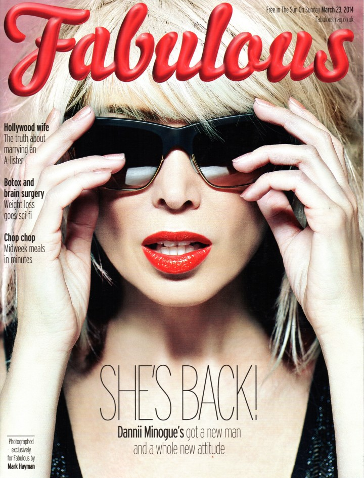 Dannii Minogue: Fabulous Magazine -04