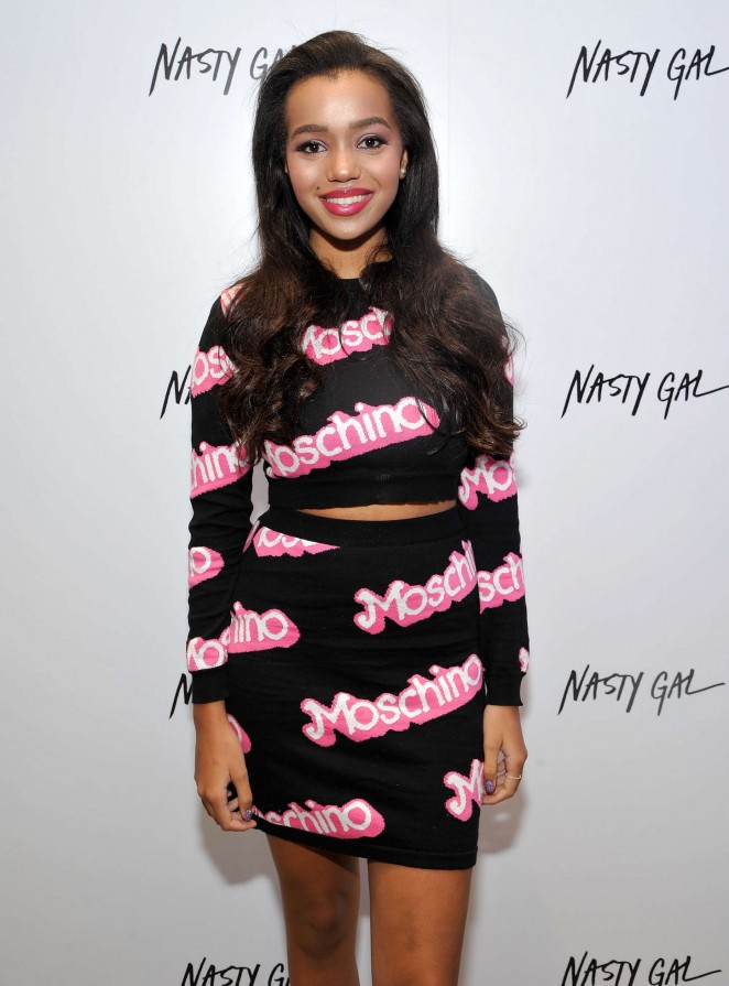 Daphne Blunt - Nasty Gal Melrose Store Launch in LA