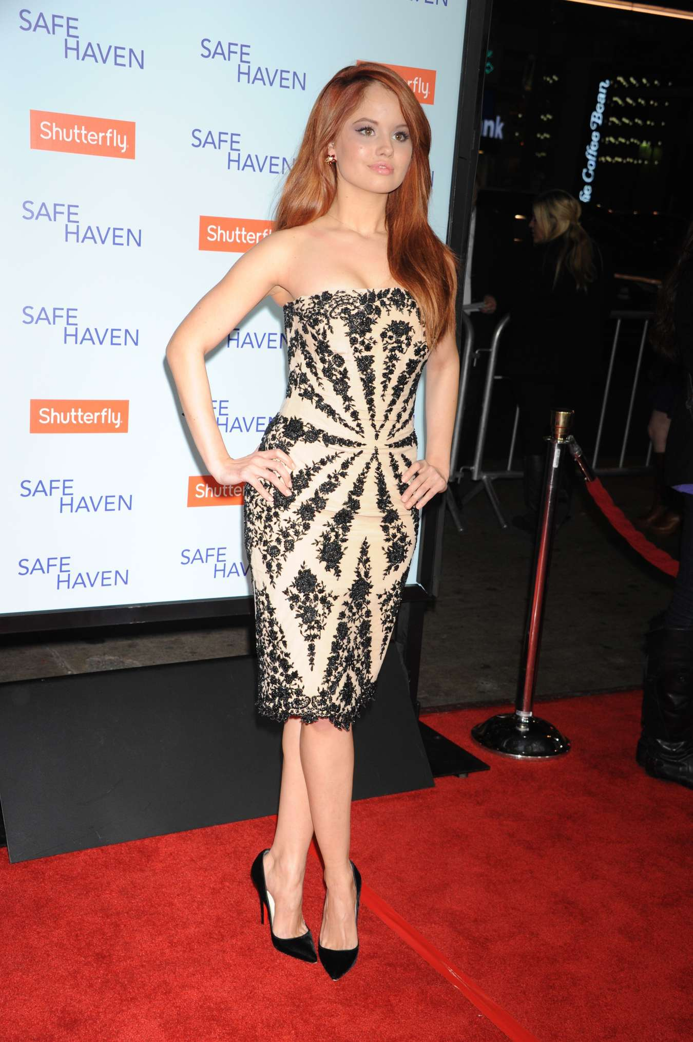 back to post debby ryan at safe haven premiere in