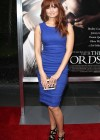 Debby Ryan in tight dress at The Words Premiere in LA