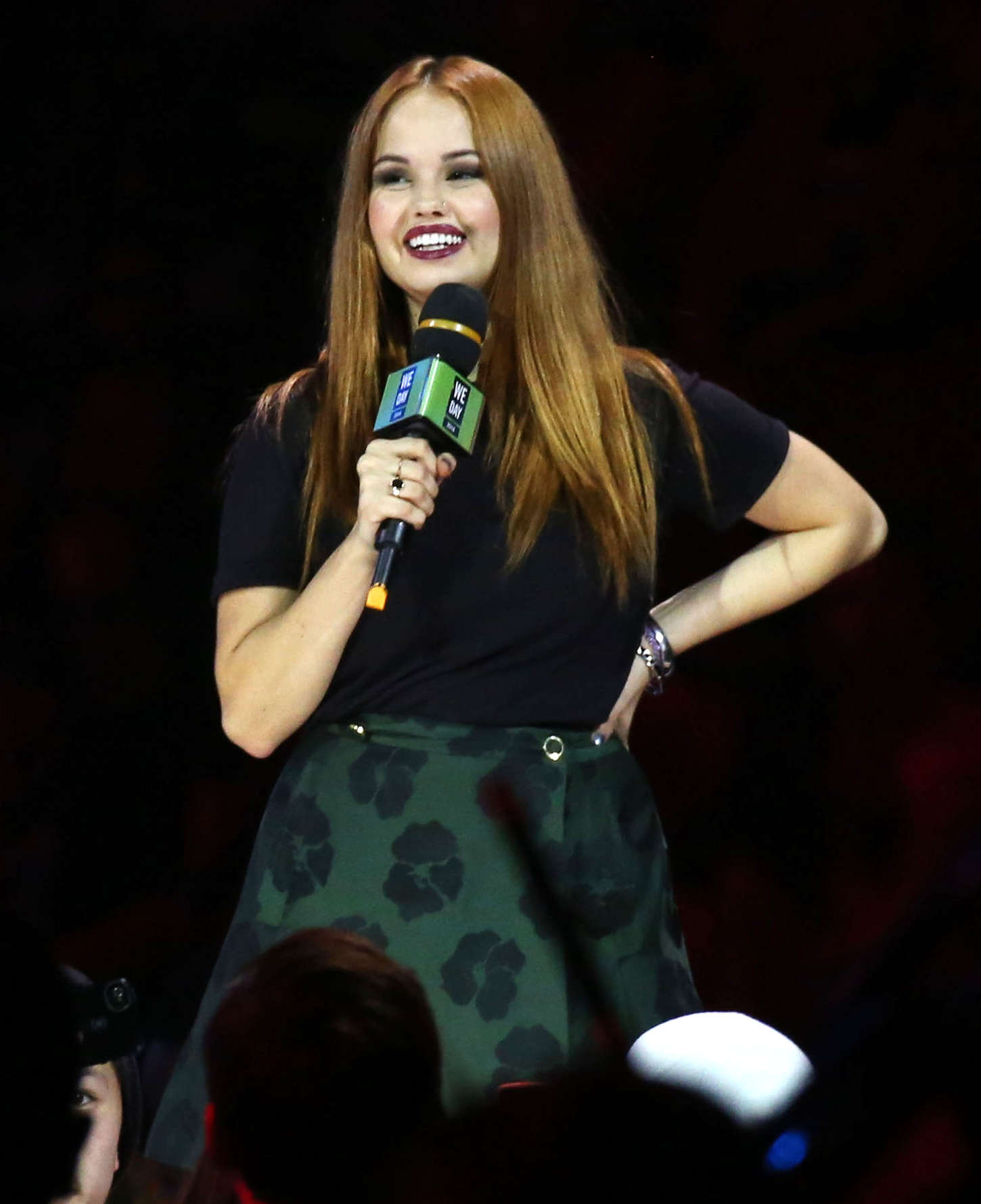Debby Ryan at 'We Day' 2014 in Vancouver
