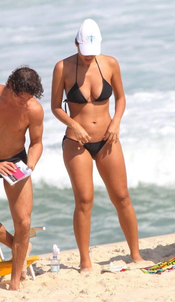 Debora Nascimento in a Bikini in Rio de Janeiro -04