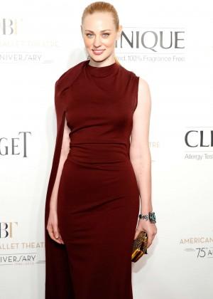 Deborah Ann Woll - American Ballet Theatre 2014 Opening Night Fall Gala in NY
