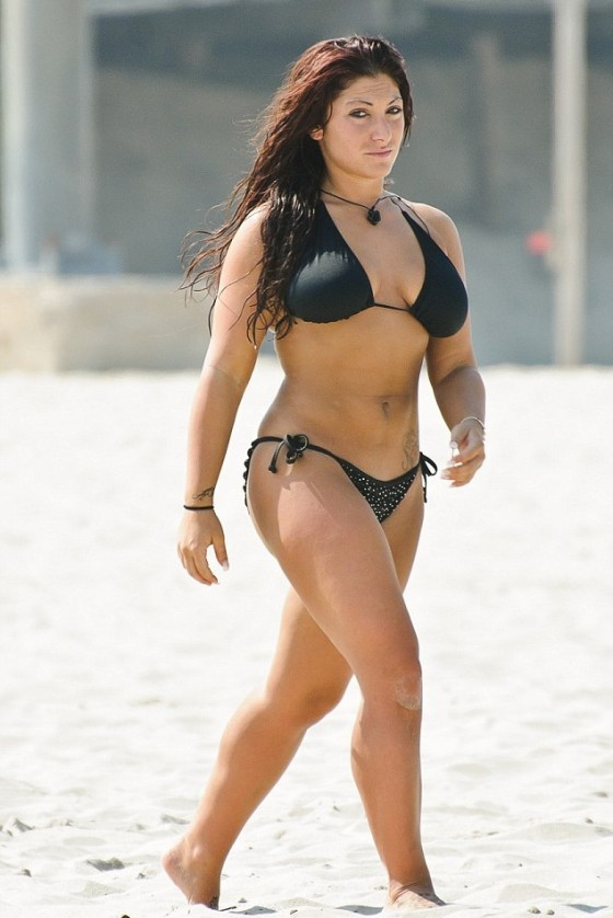 Deena Nicole Cortese - Bikini candids - Seaside Heights