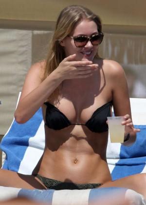 Deimante Guobyte Bikini Photos: Miami 2014 -06