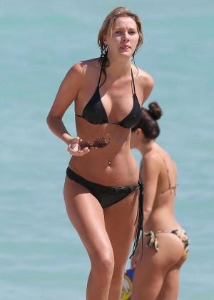 Deimante Guobyte Bikini Photos: Miami 2014 -10