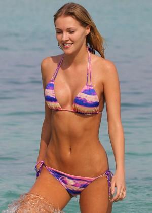 Deimante Guobyte Bikini Photos: 2014 Miami -01