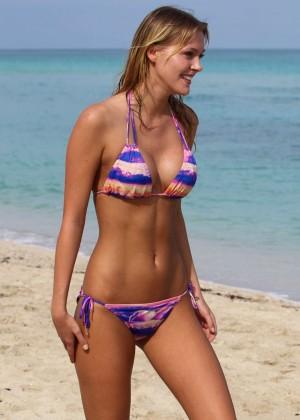 Deimante Guobyte Bikini Photos: 2014 Miami -02