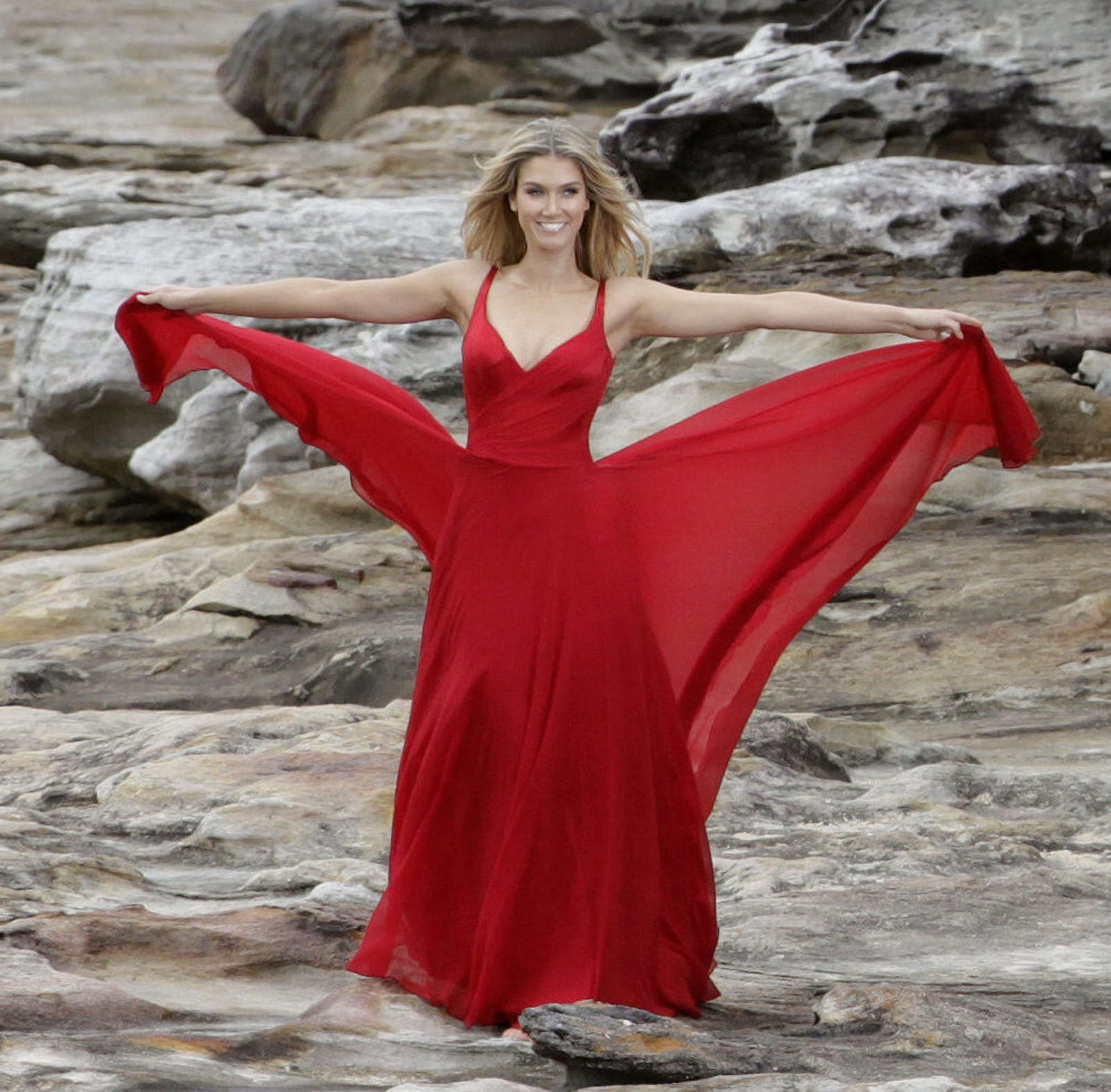 Delta Goodrem Swiss Commercial Photoshoot In Sydney 03