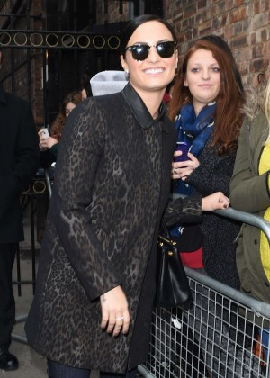 Demi Lovato at Royal Variety Performance Rehearsals in London