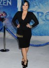 Demi Lovato: Frozen Hollywood Premiere -01