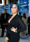 Demi Lovato: Frozen Hollywood Premiere -11