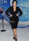 Demi Lovato: Frozen Hollywood Premiere -16